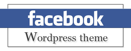 WordPress FaceBook 主题模板