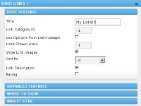 Wordpress Widget: King Links